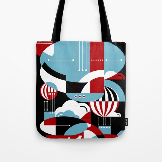 Zeppelins and Balloons Tote Bag