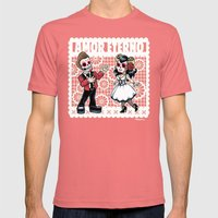 Amor Eterno Mens Fitted Tee Pomegranate SMALL