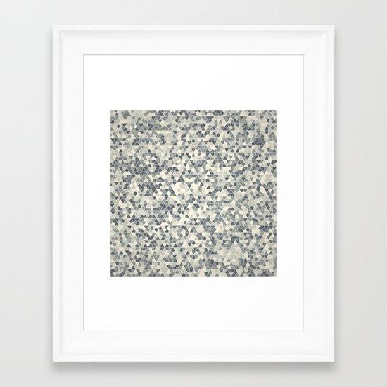 Losange Framed Art Print