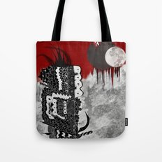 Man on fire Tote Bag