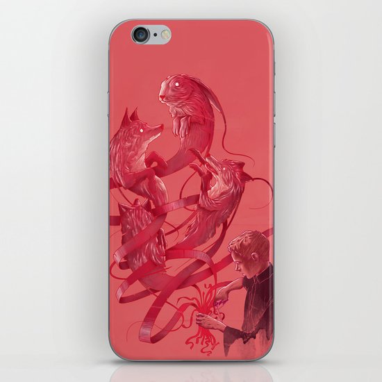 Cutting to the Chase iPhone & iPod Skin