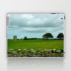 Speeding By The Irish Countryside Laptop & iPad Skin