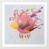 The Bird-world Art Print