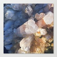 Quartz Crystal Canvas Print