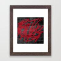 Haphazard. Framed Art Print