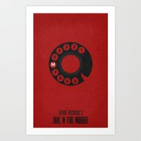 Dial M For Murder - Mini… Art Print