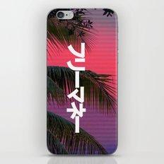 FREExMONEY3 iPhone & iPod Skin