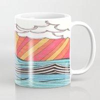 Rays of Sunshine on a Cloudy Day. Mug