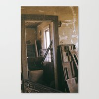 A Collection... Of Junk Canvas Print