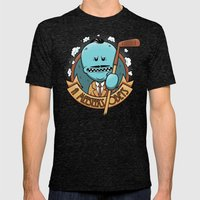 A Meeseeks Obeys Mens Fitted Tee Tri-Black SMALL