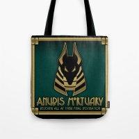 Anubis Mortuary Tote Bag