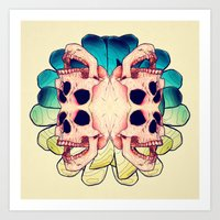 The Human Virus Art Print
