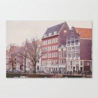 Amsterdam Love Canvas Print