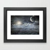Silent Rise Framed Art Print