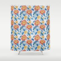 The Lost World birds Shower Curtain