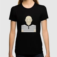 Pablo Picasso Womens Fitted Tee Black SMALL