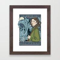 El Laberinto del Fauno (Pan's Labyrinth)  Framed Art Print