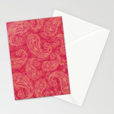 Crazy Paisley Stationery Cards