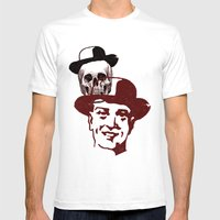 Procession Through Time Mens Fitted Tee White SMALL