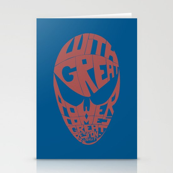 Spiderman Stationery Card