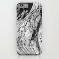 iPhone & iPod Case featuring Monolithic Erosion Swirl by Simbiotek