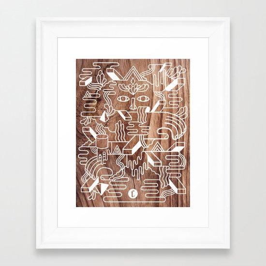 Fever Dreams Framed Art Print