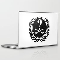 community Laptop & iPad Skins featuring Anonymous community by Komrod