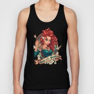 Fate Loves The Fearless Unisex Tank Top