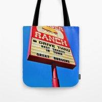 The Burger Ranch Tote Bag