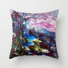 SummerNight Throw Pillow