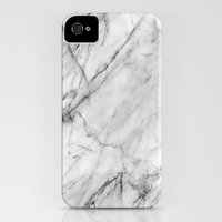 iPhone 4 Case featuring Marble by Patterns and Textures