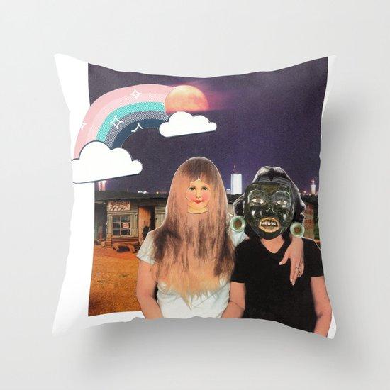 Friendship Throw Pillow