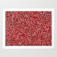 treemap mosaic - virus apocalypse Art Print
