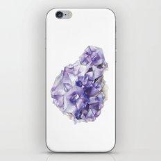 Amethyst Cluster iPhone & iPod Skin