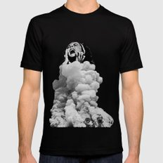 Collapse Mens Fitted Tee Black SMALL