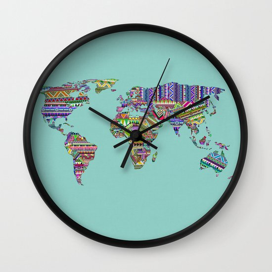 Overdose World Wall Clock