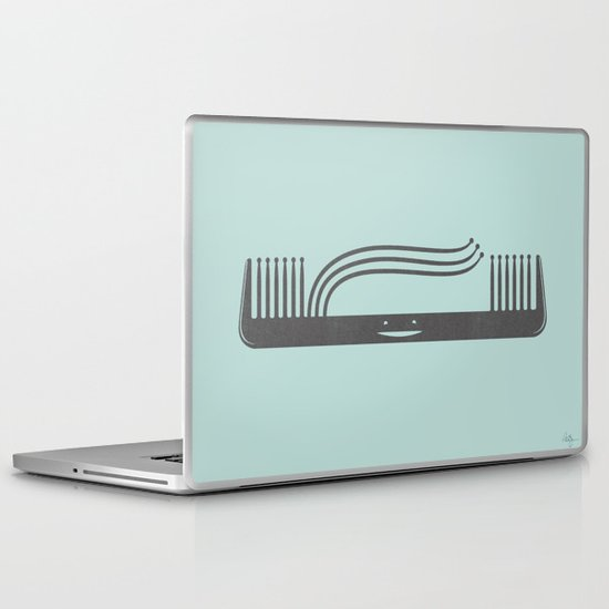 Comb Over Laptop & iPad Skin