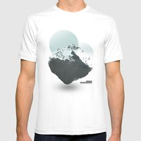 Mt. Everest - The Surrea… Mens Fitted Tee White SMALL