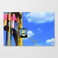 Andy's Bridge Canvas Print