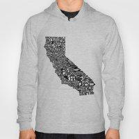 Typographic California Hoody