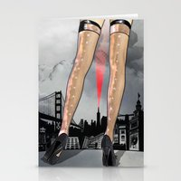The World At Her Feet Stationery Cards