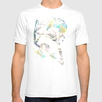 Prism Bubble Bursting Mens Fitted Tee White SMALL