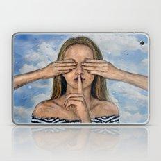 Silence in the Dark  Laptop & iPad Skin