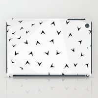 Folded Arrows Pattern iPad Case