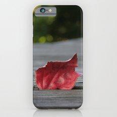 Red Leaf iPhone 6s Slim Case
