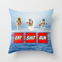 ESR LEGO Throw Pillow