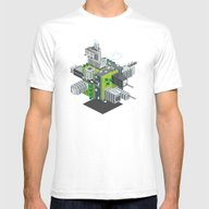 T-shirt featuring CUBIC WORLD by Totto Renna