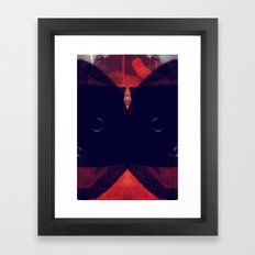 darque Framed Art Print