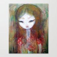 Bloom Eye Canvas Print