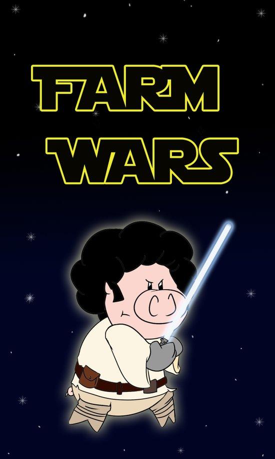 Farm Wars - Luke edition Art Print